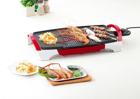 More comfortable more fast with electric grill pan photo