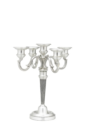 A beautiful table candlestick for home decoration