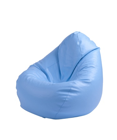 seating furniture: Flexible and adjustable seat beanbag Stock Photo