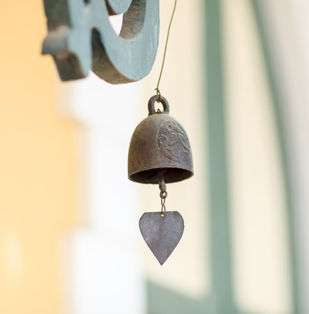 chime: Thai temple brass wind chime