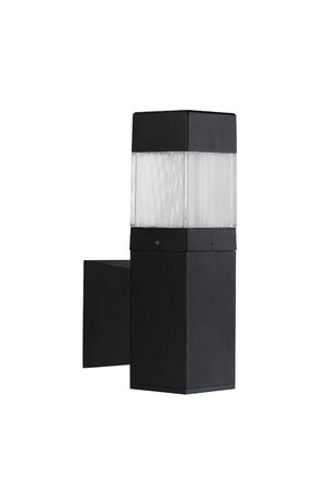 electric avenue: A modern wall lamp for decorate exterior, garden or walkway