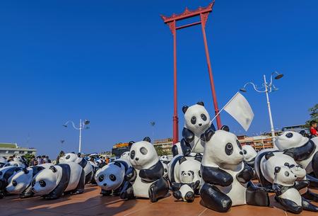 Pandas World Tour in Thailand
