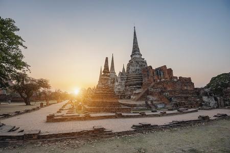 ayuthaya: Historic park, archaeological site,the pagoda, Ayutthaya, Thailand