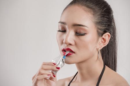 Dem mund mit kondom Wie man