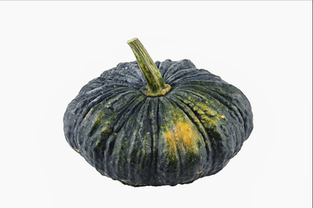 pumpkin isolated on white background,Asian native pumpkin.