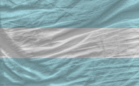 piktogramm: complete national flag of argentina covers whole frame, waved, crunched and very natural looking. It is perfect for background