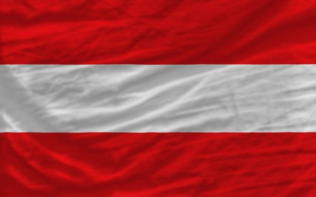piktogramm: complete national flag of austria covers whole frame, waved, crunched and very natural looking. It is perfect for background Stock Photo