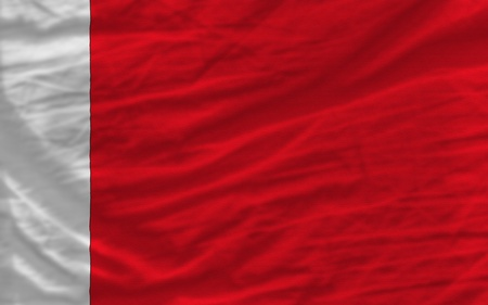 piktogramm: complete national flag of bahrain covers whole frame, waved, crunched and very natural looking. It is perfect for background Stock Photo