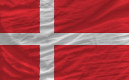 piktogramm: complete national flag of denmark covers whole frame, waved, crunched and very natural looking. It is perfect for background