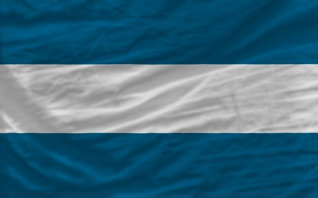 piktogramm: complete national flag of el salvador covers whole frame, waved, crunched and very natural looking. It is perfect for background