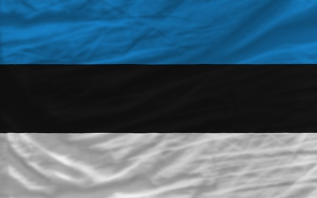 piktogramm: complete national flag of estonia covers whole frame, waved, crunched and very natural looking. It is perfect for background