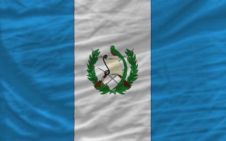 piktogramm: complete national flag of guatemala covers whole frame, waved, crunched and very natural looking. It is perfect for background