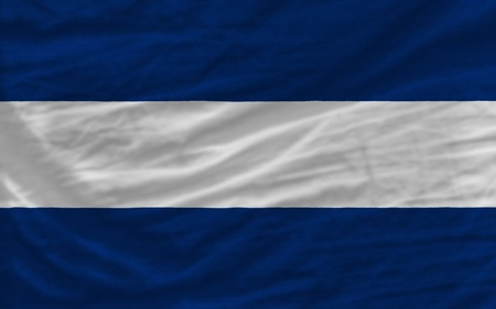 piktogramm: complete national flag of nicaragua covers whole frame, waved, crunched and very natural looking. It is perfect for background