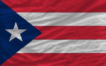 bandera de puerto rico: la bandera nacional completo de puertorico cubre el bastidor entero, ondulado, cruj�a y un aspecto muy natural. Es perfecto para el fondo