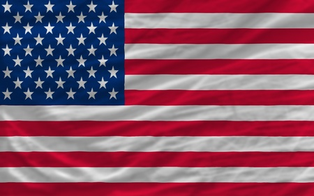 piktogramm: complete national flag of us covers whole frame, waved, crunched and very natural looking. It is perfect for background