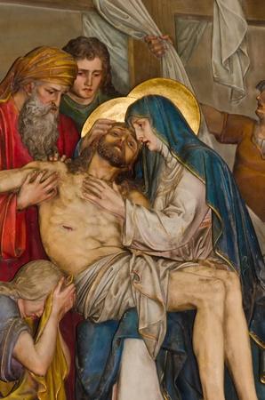 jesus cross: relief of Jesus Christ calvary