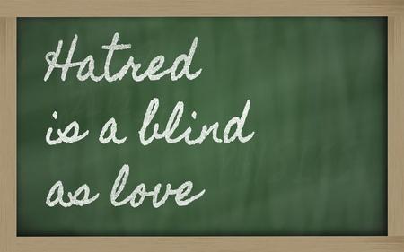 handwriting blackboard writings - Haste makes waste