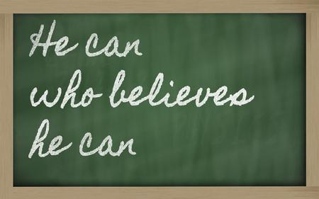 believes: handwriting blackboard writings - Haste makes waste