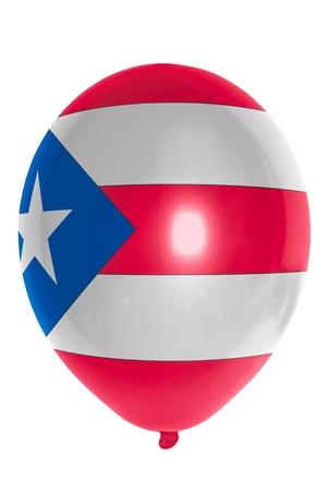 puertorico: national flag of puertorico balloon