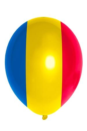 national flag of romania balloon photo