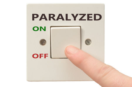 paralyzed: Turning off Paralyzed with finger on electrical switch