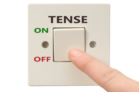 tense: Turning off Tense with finger on electrical switch