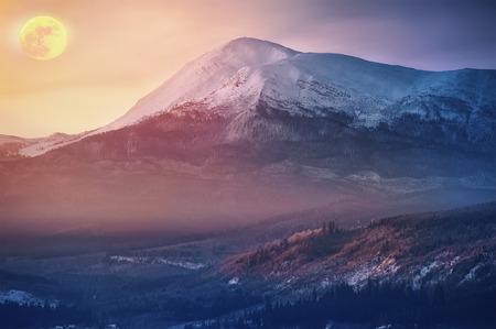 beautiful mountain veiw