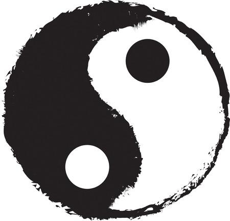 The symbol of Yin Yan Çizim