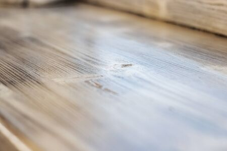 Light wooden surface background or texture close up