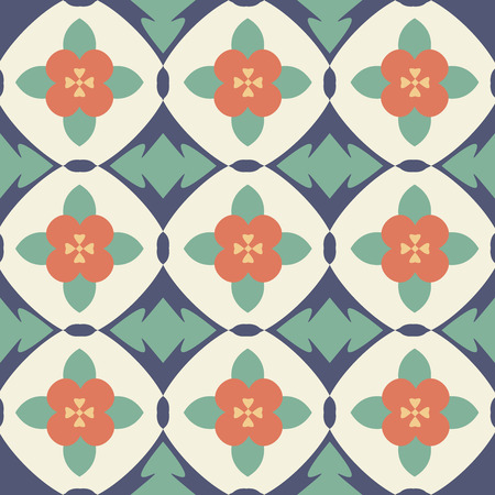 Pattern with flowers and petals.