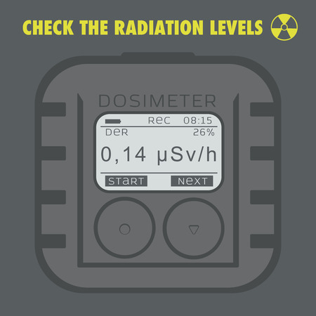 high damage: Electronic dosimeter. Personal Combined Radiation Detectors.