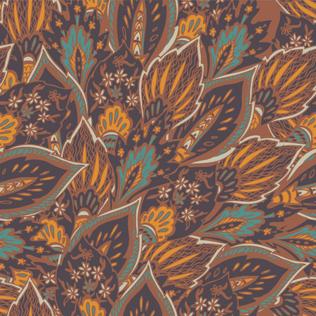 fashion design: Vector seamless eastern pattern  Illustration