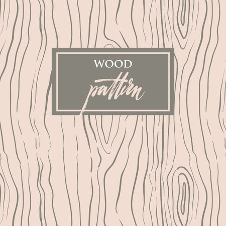 Wood texture  Seamless pattern with structure of tree Illustration