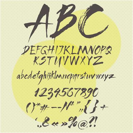 alphabet template.