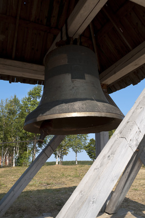 belfry: The bells in the belfry at the Orthodox Christian monastery