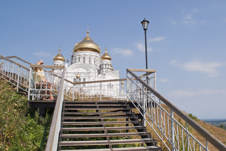 orthodox: Russian Orthodox Christian Church Stock Photo