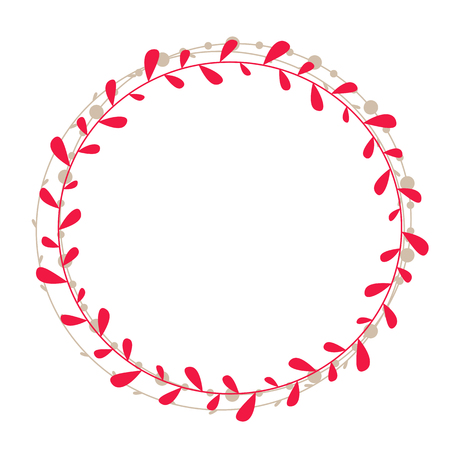 Vector Rustic Wreath Royalty Free Cliparts Vectors And Stock
