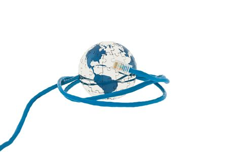 Global communication in the world photo