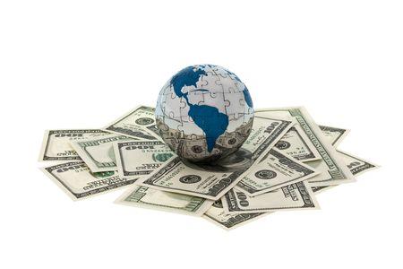 laundered: Money and Globe