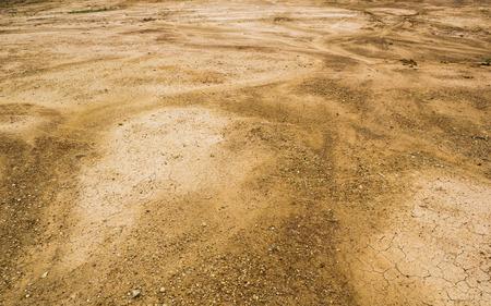 soil texture: soil texture after raining.