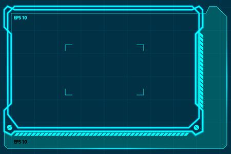 csi: technology border Illustration