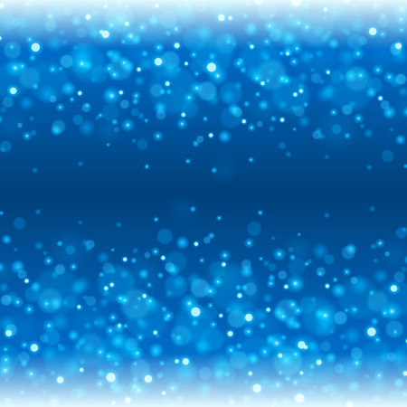 excite: Abstract Light Bokeh Background Vector Illustration. Magic Defocused Glitter Sparkles. Good for promotion materials, Brochures, Banners. Abstract Backdrop. Illustration