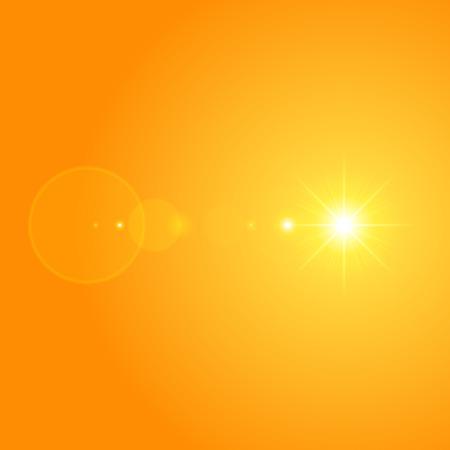 sun with lens flare lights template and vector background sunrise rh 123rf com Clip Art Sun Glow Flare Transparent Vector