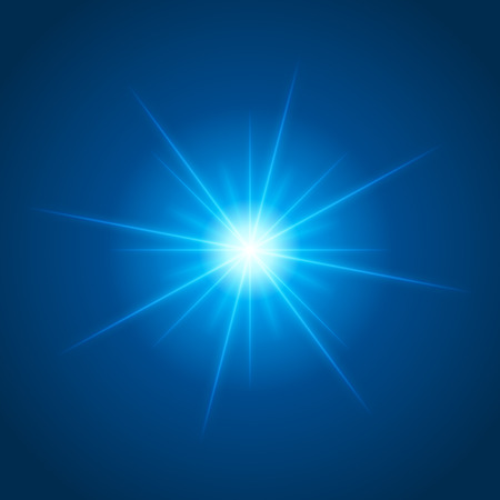 Sun with lens flare lights template and vector background. Special Effect Glowing Rays. Good for promotion materials, Brochures, Banners. Abstract Backdrop.