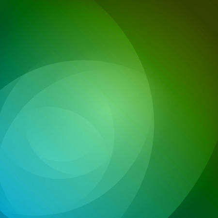 Smooth light blue green waves lines vector abstract bacground. Good for promotion materials, brochures, banners. Abstract Backdrop, Technology Background. Illustration