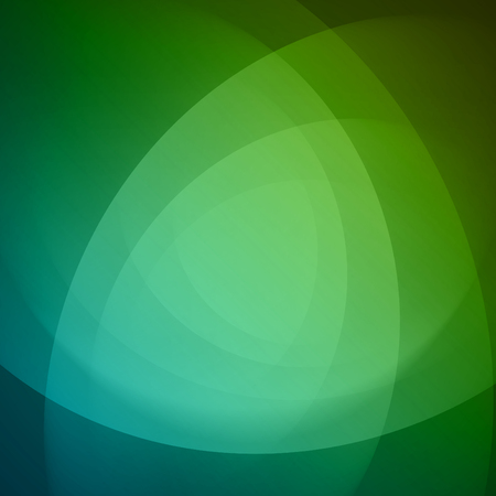 Smooth light blue green waves lines abstract background. Good for promotion materials, brochures. Abstract Backdrop, Technology Background.