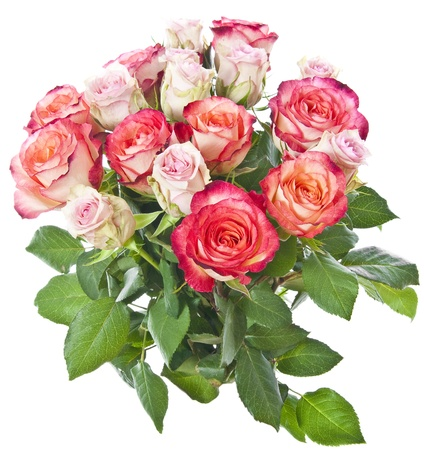 bouquet de roses roses photo