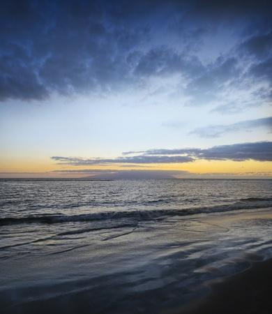 sunset above ocean Stock Photo - 13372084
