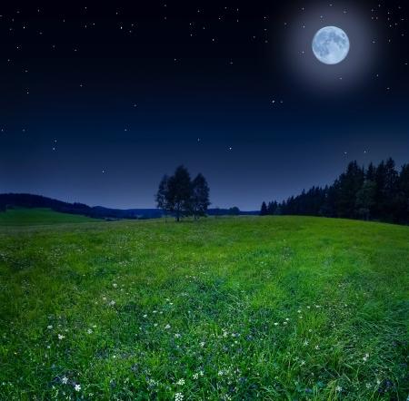 noc Reklamní fotografie