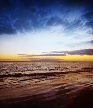 sunset above ocean Stock Photo - 16810113